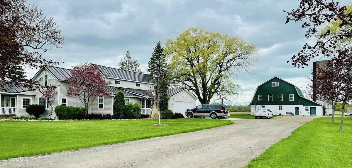The two acre country homestead.