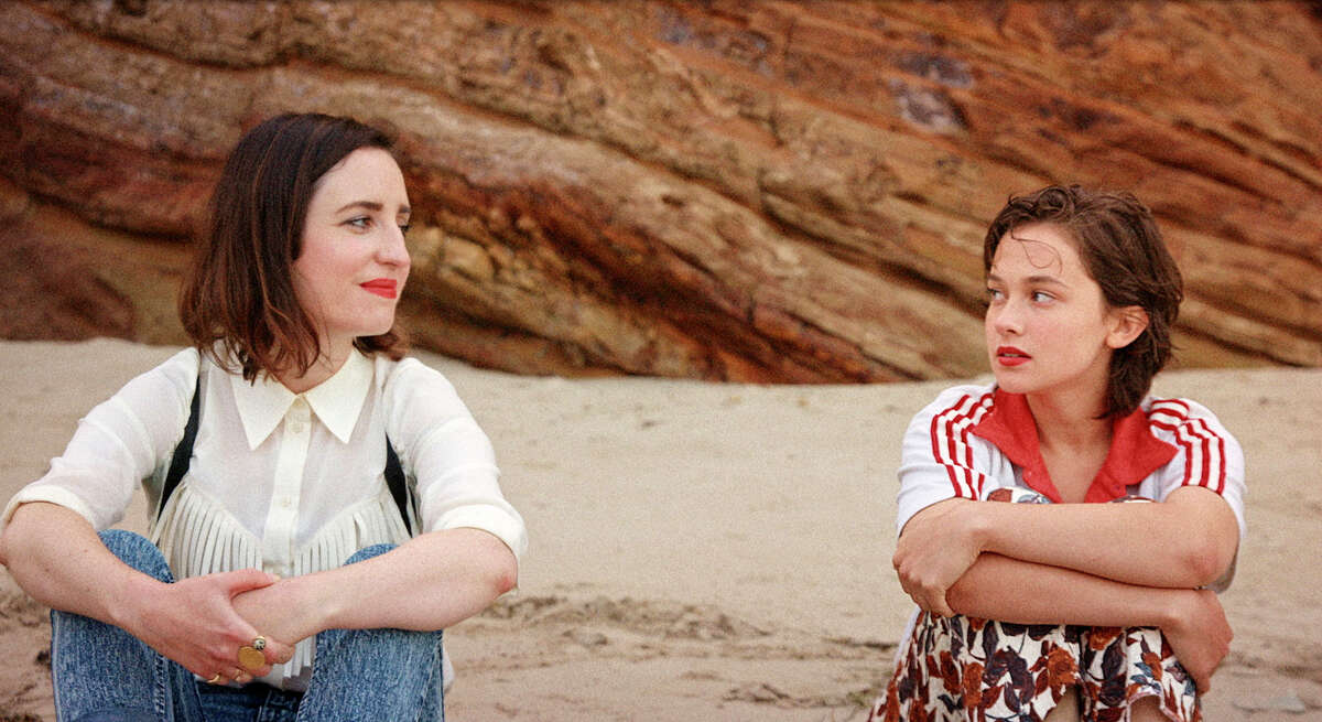 """Zoe Lister-Jones, left, and Cailee Spaeny in """"How It Ends."""""""