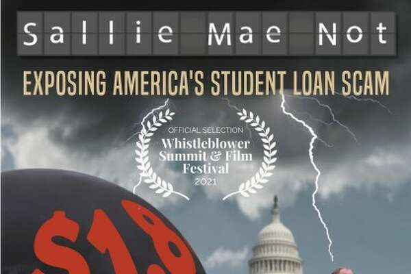 """""""Sallie Mae Not,"""" by Albany filmmaker Mike Camoin, premieres virtually on July 26at the Whistleblower Summit and Film Festival."""