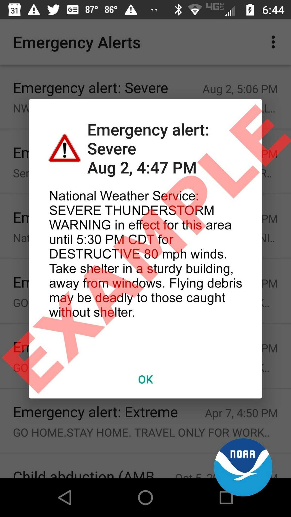 National Weather Service announced they will begin rolling out their new thunderstorm warning feature.
