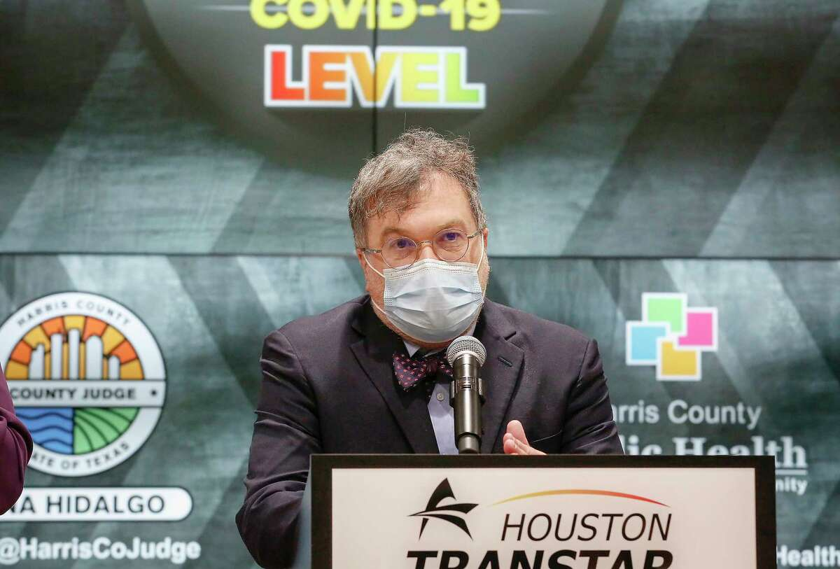Dr. Peter Hotez talks about the COVID - 19 threat Houston Transtar Thursday, July 22, 2021, in Houston.