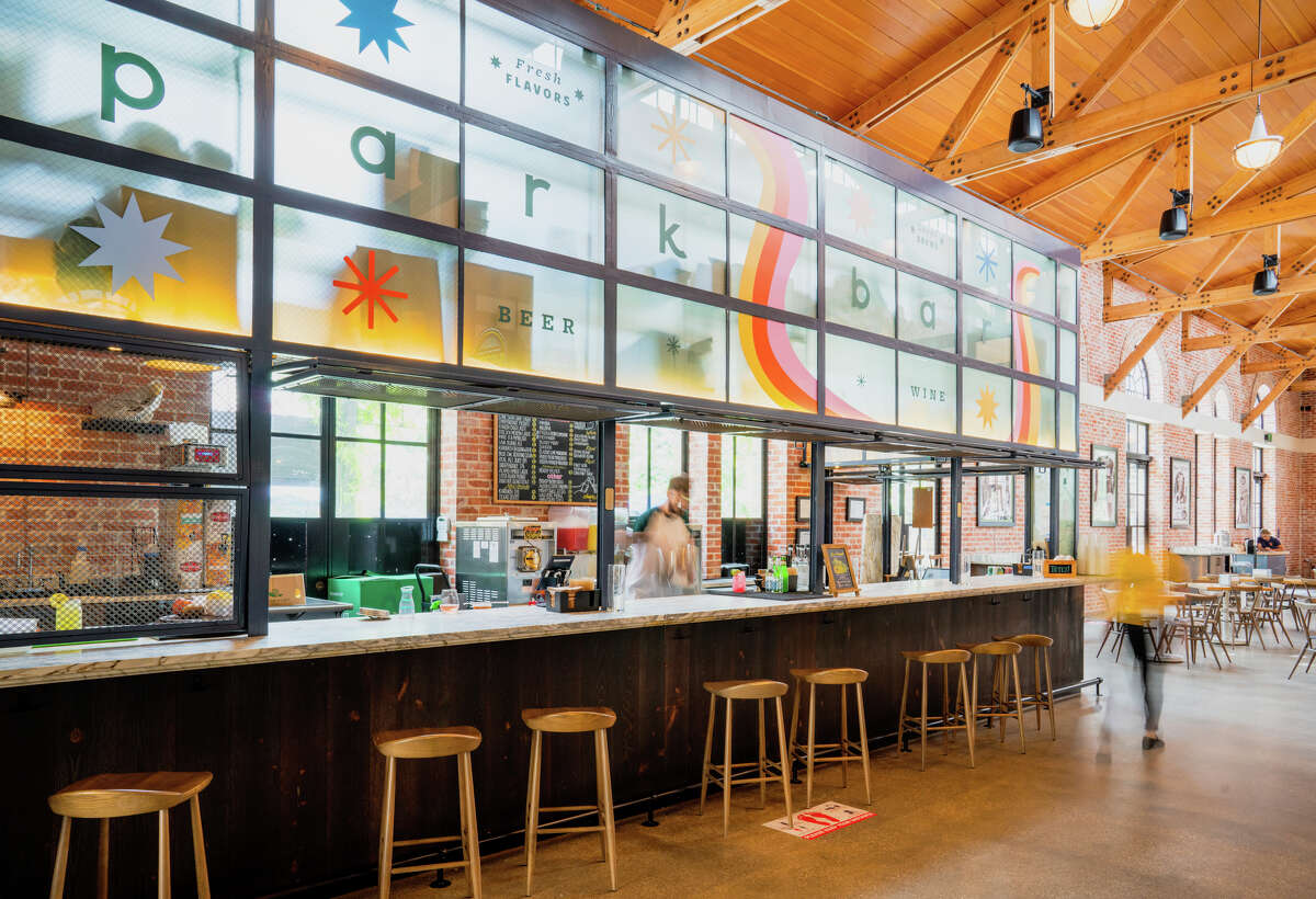 """Park Bar's bright new look matches its """"keep the good times flowing"""" mantra."""