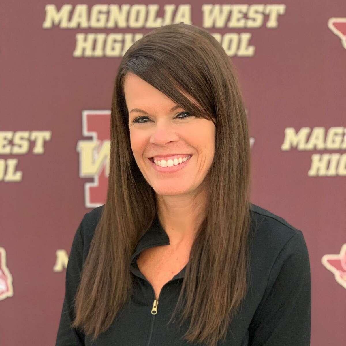 Magnolia West girls soccer coach Heather McCallum.