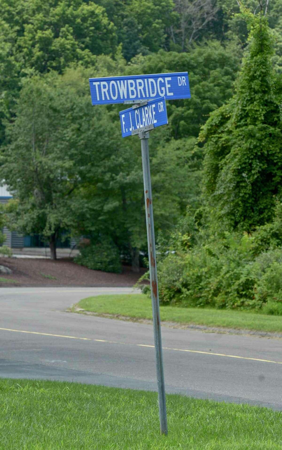 Trowbridge Drive in the Clarke Business Park in Bethel, Conn.