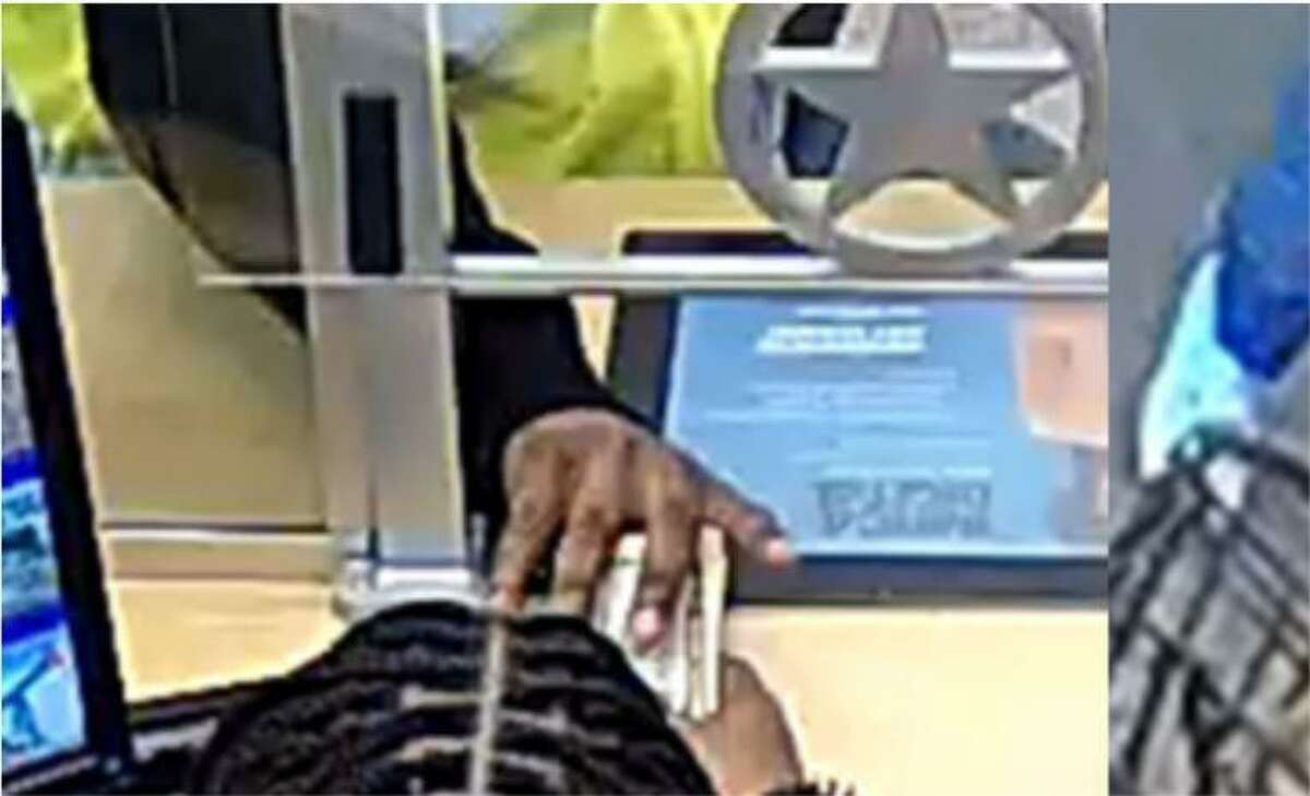 Police shared surveillance footage of a suspect in a robbery at a bank inside the Kroger in the 11700 block of S. Sam Houston Parkway in Houston. Marcus Virgin is now charged in that incident.