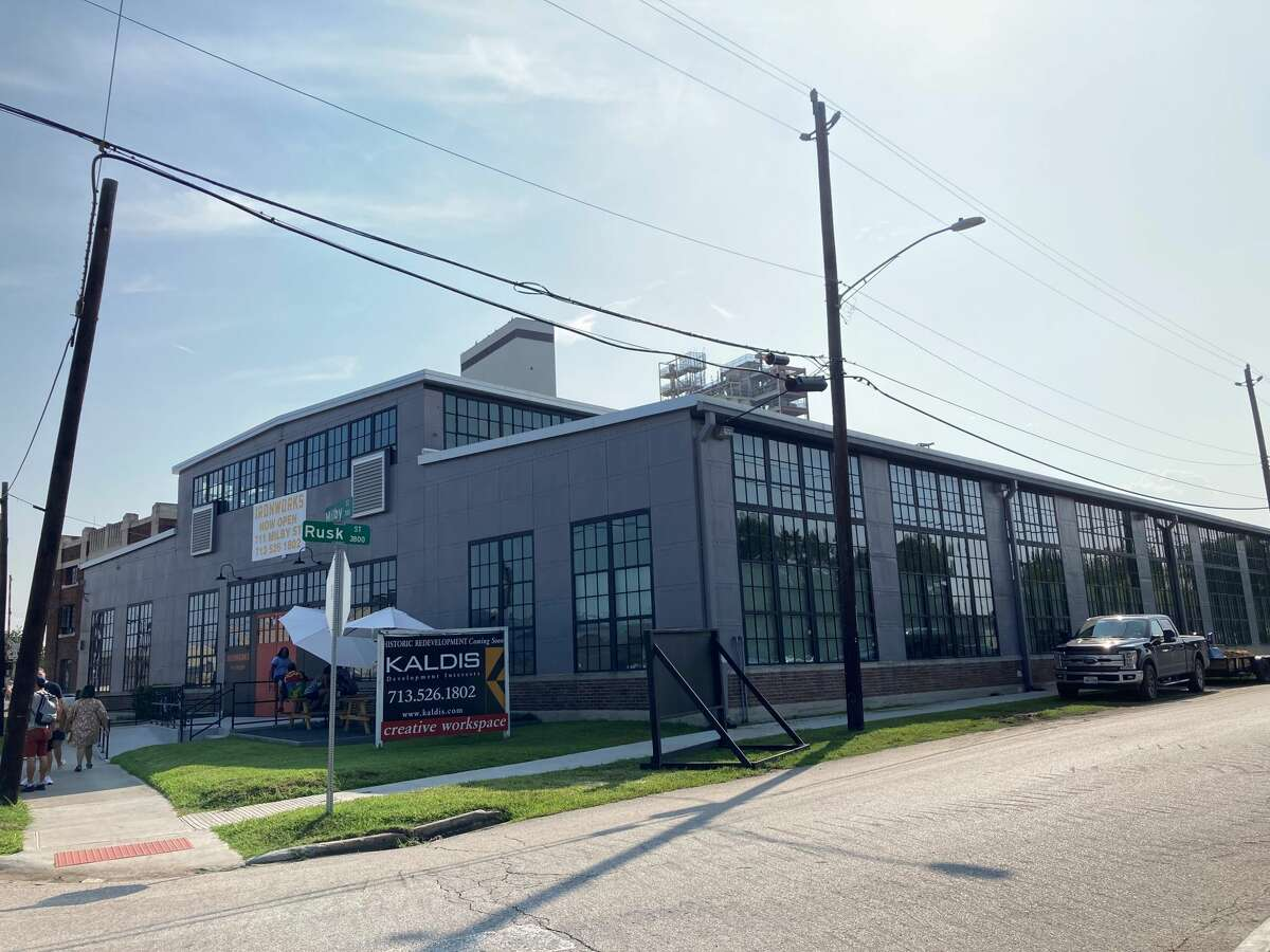 Kaldis Development opened Ironworks, a historic redevelopment of the Cameron Iron Works building at 711 Milby in the East End.