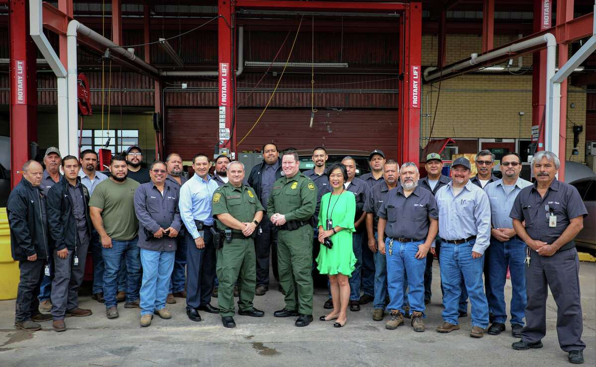 The U.S. Border Patrol recently recognized its fleet personnel with an awards event.