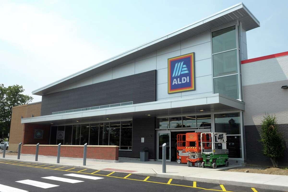 The new Aldi supermarket in Fairfield, Conn. July 22, 2021.