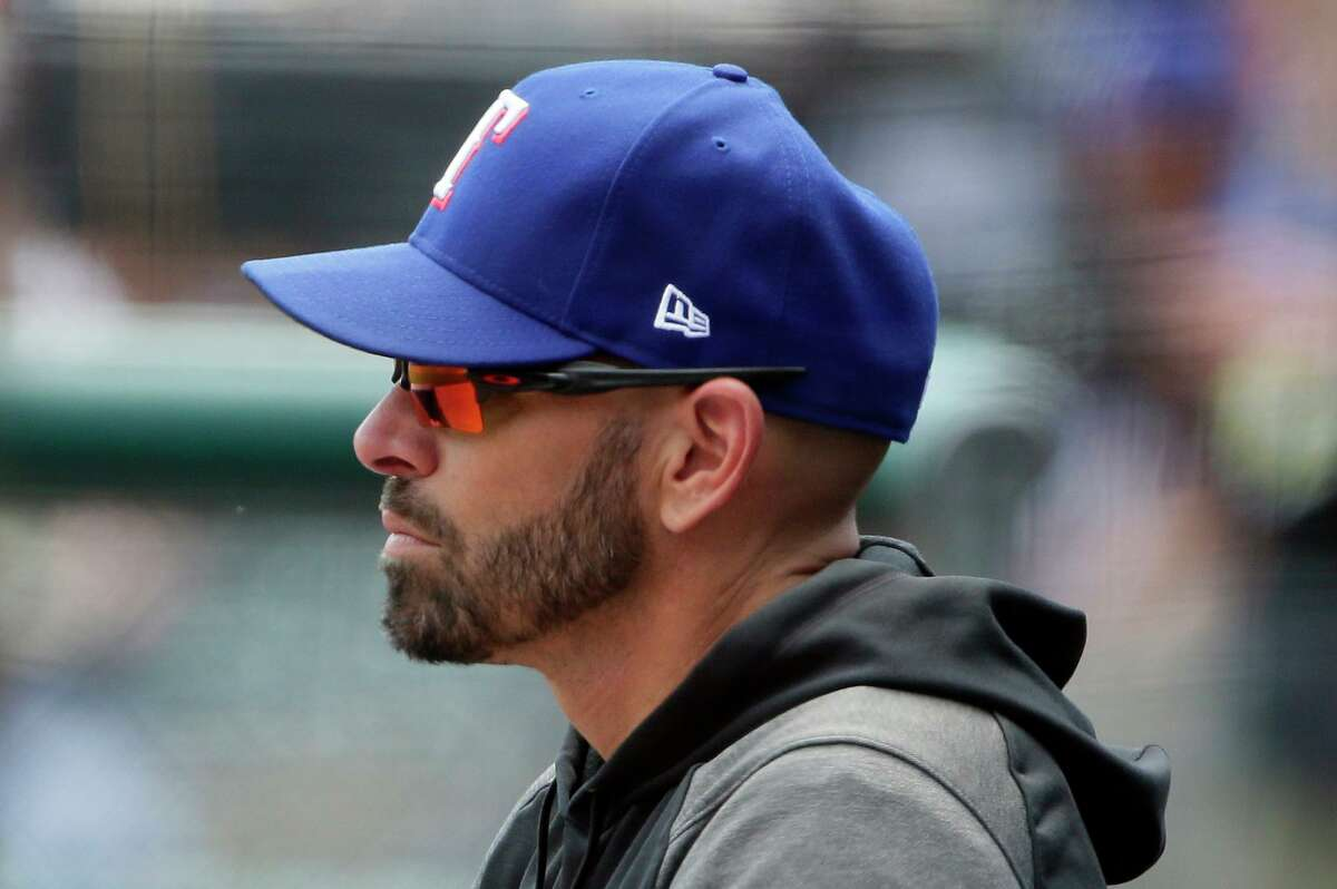 Rangers manager Chris Woodward hasn't liked what he's seen of late. His team has lost nine consecutive games and gone 78 consecutive innings without holding a lead.