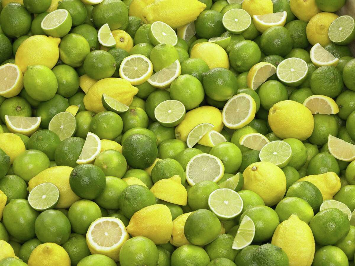 When shopping for the juiciest lemons and limes, look for fruits with smooth skins that feel heavy for their size.