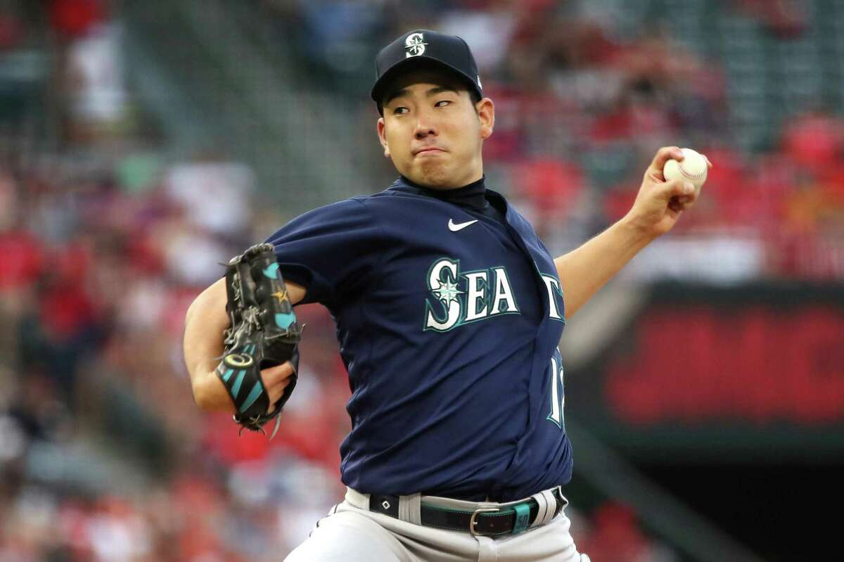 All-Star Yusei Kikuchi is set pitch for the Mariners when they host the A's at 7 p.m. Friday (NBCSCA/960).