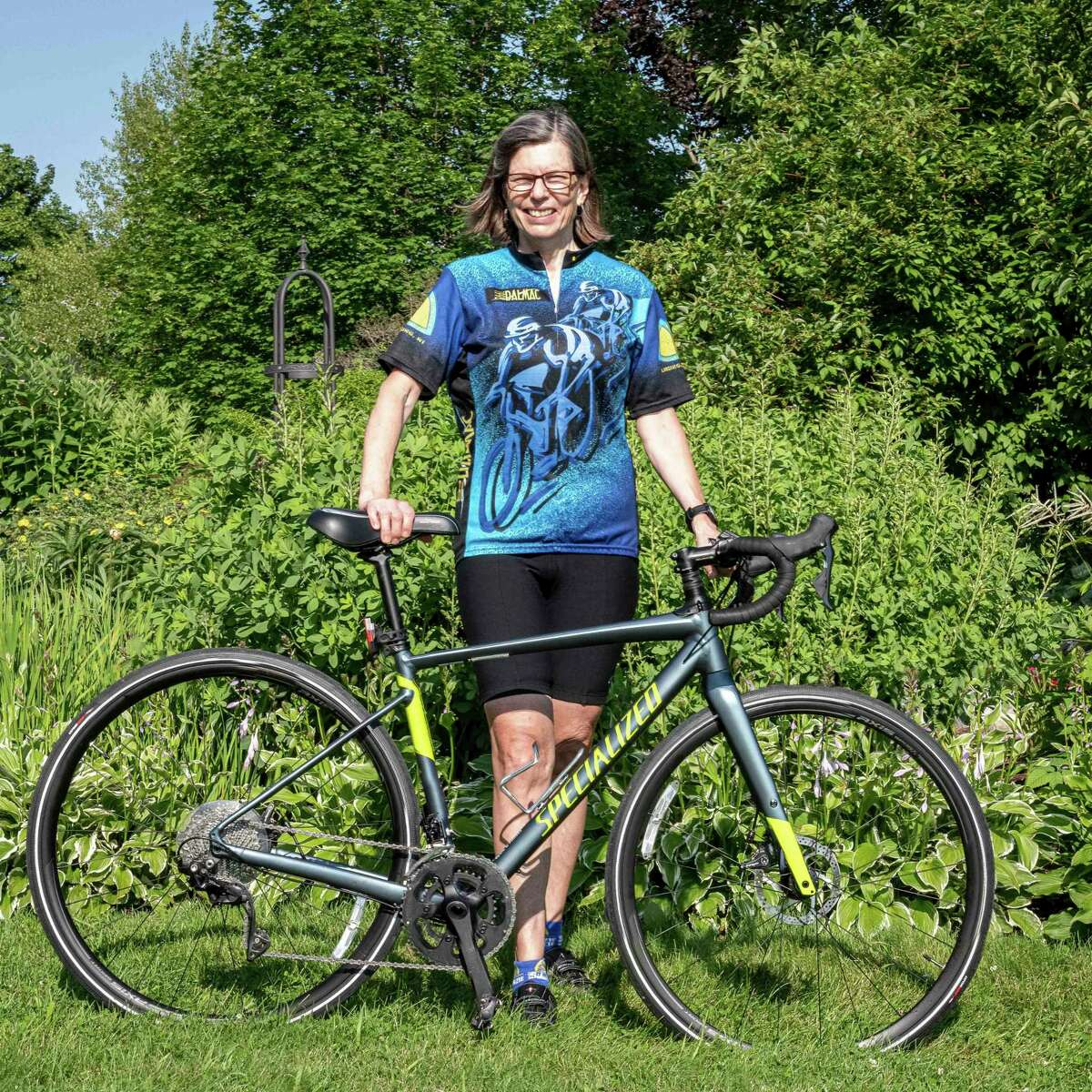 Michelle Russell will be completing the cycling leg of the Ironman 7.30 as part of the Paul Oliver Challenge Team. (Courtesy Photo)