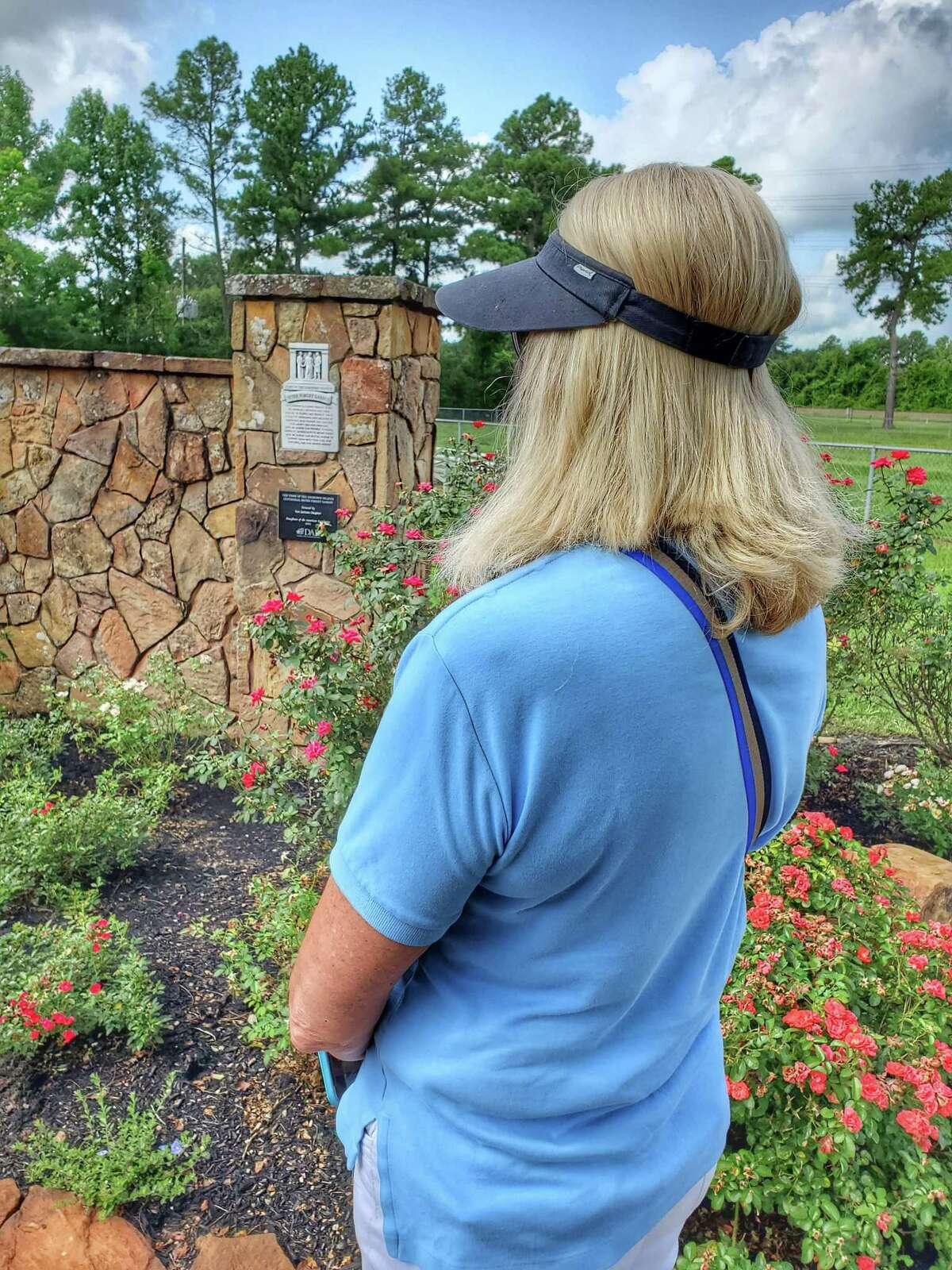 Tomball's new Never Forget Garden is now open to the public at Jerry Matheson Park on Ulrich Rd.