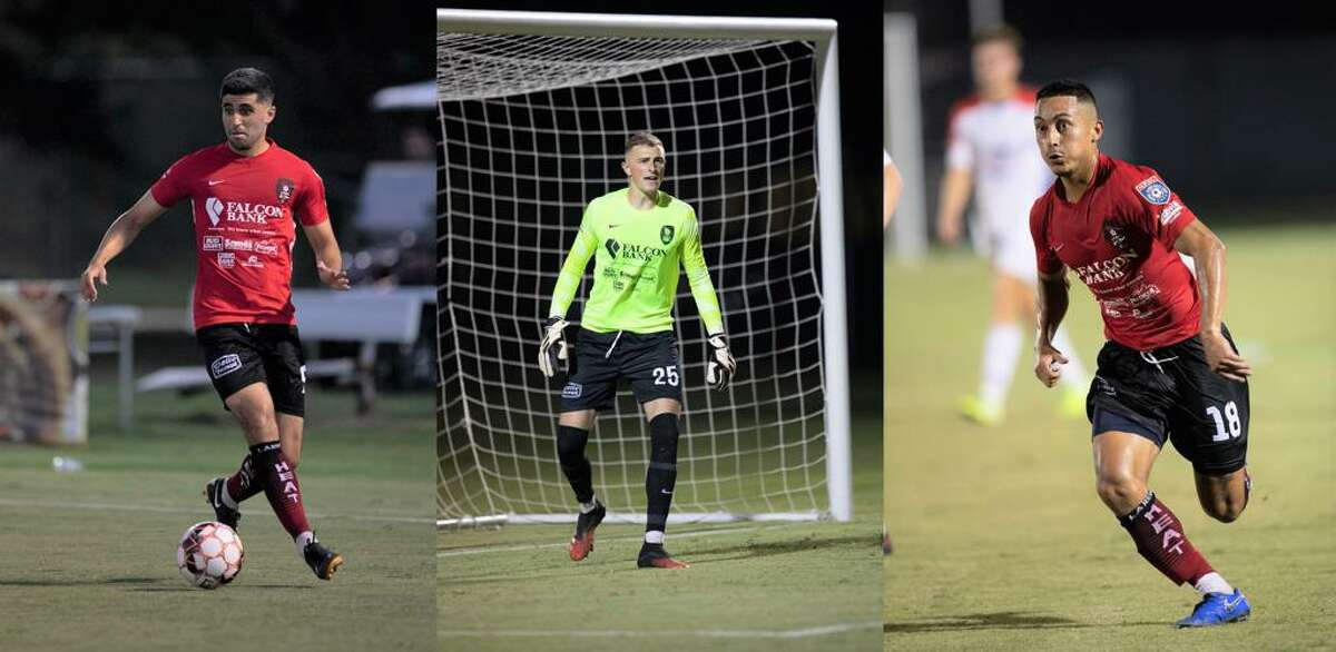 The Laredo Heat SC's Nadav Datner, Gage Rogers and Oscar Govea were named to the NPSL 2021 Conference XI Selections for the Lone Star Conference.