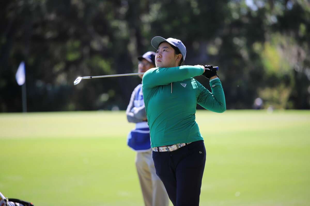 Ruixin Liu is second on the Symetra Tour money list coming into the Twin Bridges Championship.