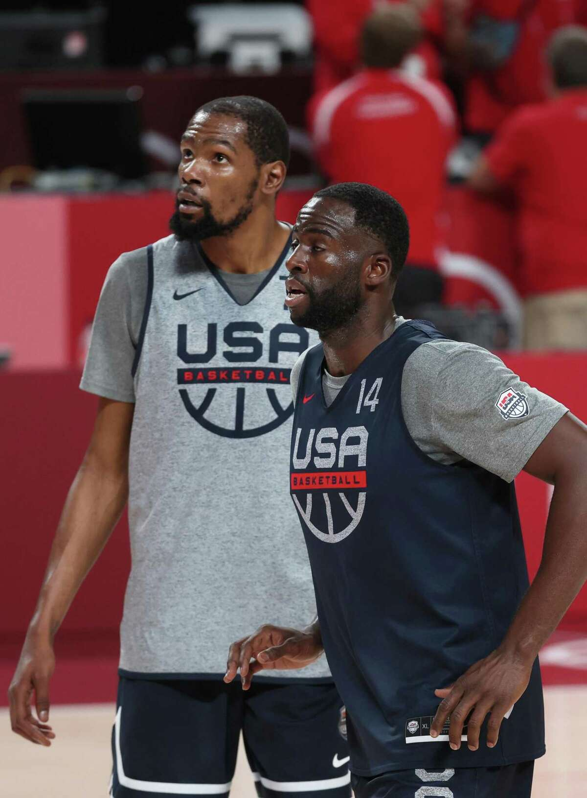 Kevin Durant (land Draymond Green hope to lead the U.S. to gold.
