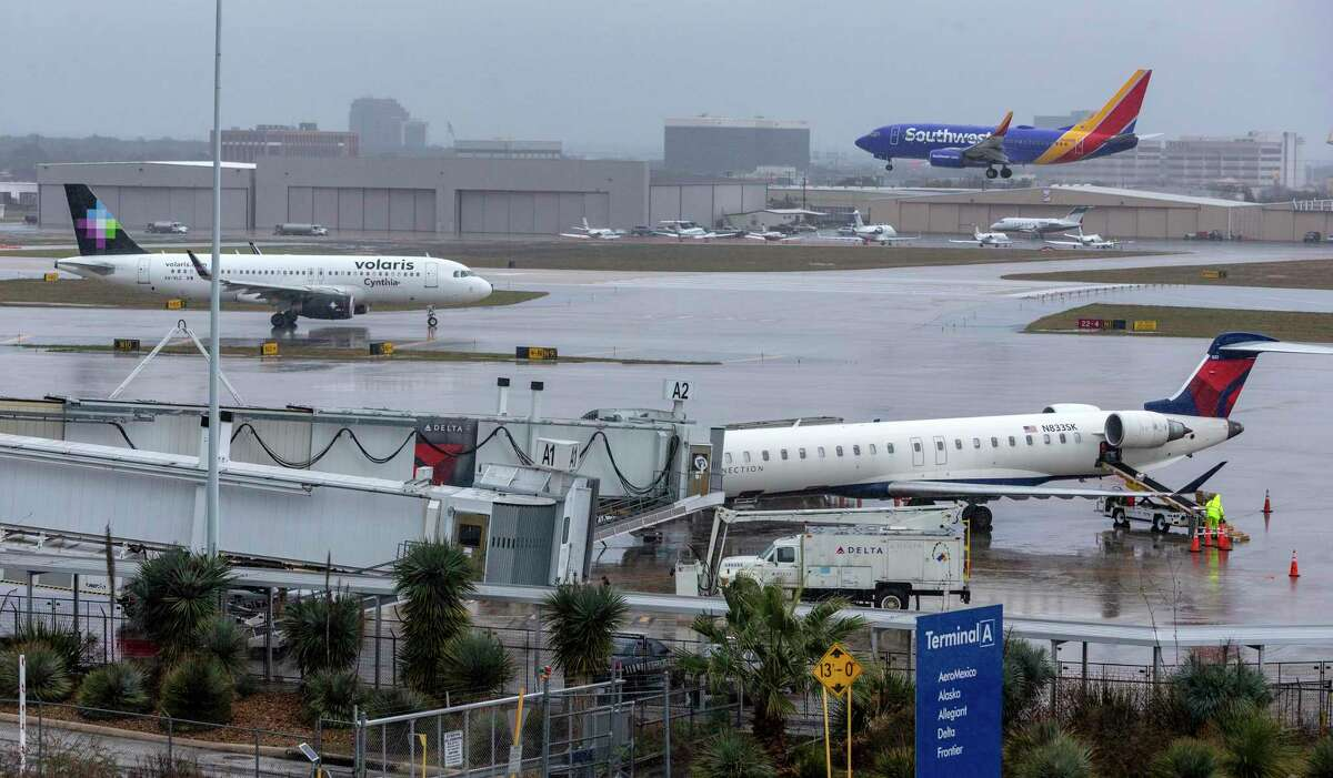 Departures from the San Antonio airport are down 25.1 percent from July 2019. That's the slowest recovery of any major airport in Texas.