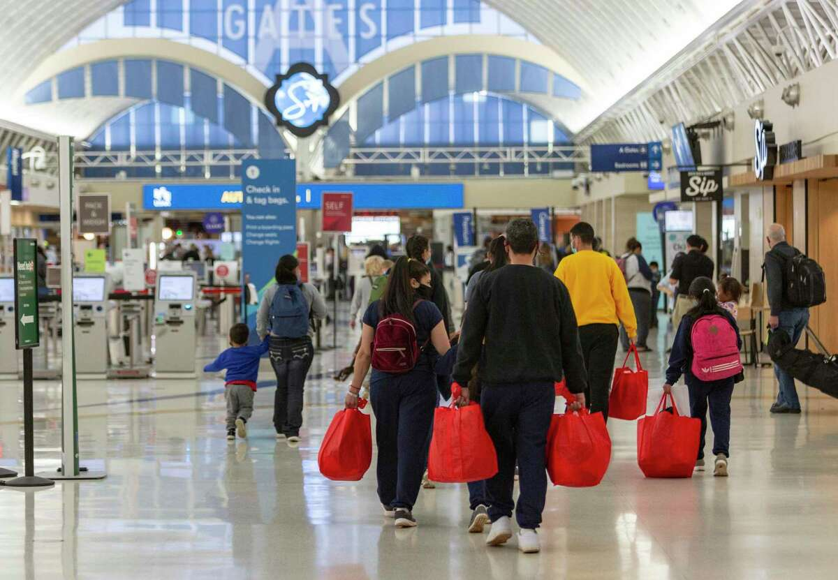 The number of passengers going through Transportation Security Administration checkpoints at the San Antonio airport is up, even with fewer flight options.