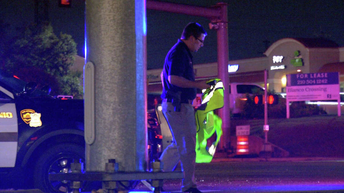 One man is dead after being hit by a pickup truck in the area of Blanco and Huebner roadsThursday night, San Antonio police said.