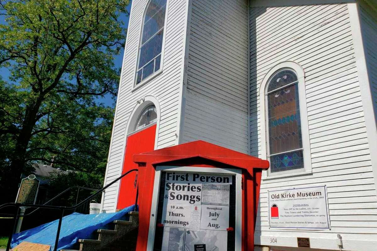 Manistee's Old Kirke Museum is set to present '45 minutes of comedic irrelevance' on July 29.