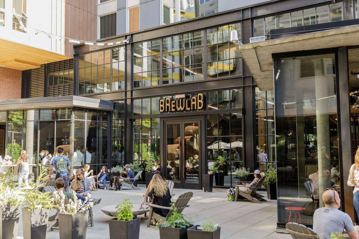 Redhook Brewlab patio
