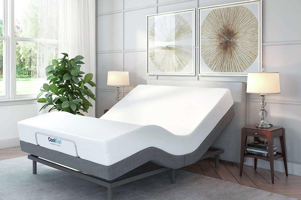 Classic Brands upholstered adjustable bed
