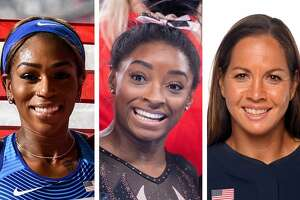Raevyn Rogers, Simone Biles and Cat Osterman are some of the biggest stars from Houton on the United States Olympic team.
