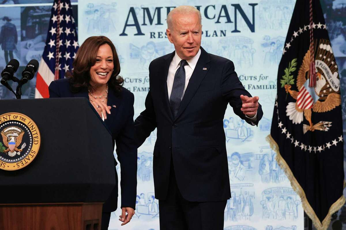 President Biden and Vice President Kamala Harris deliver remarks on the day tens of millions of parents get their first monthly payments from the new Child Tax Credit this month.
