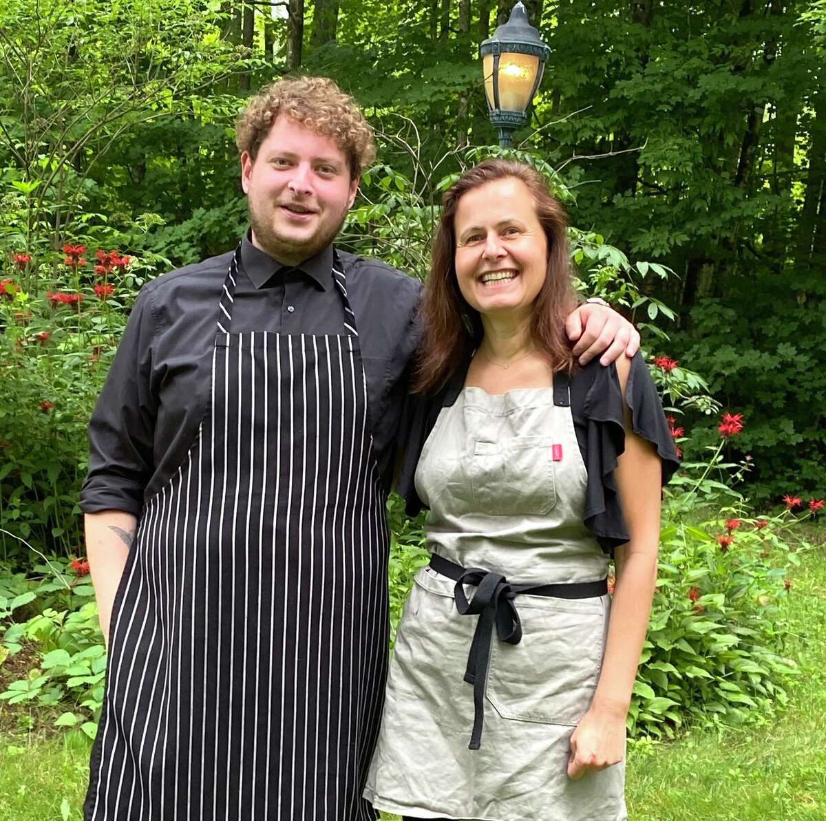 Birch & Rye owner Anya El-Wattar (right) with chef de cuisine Amiran Tskhvaradze.