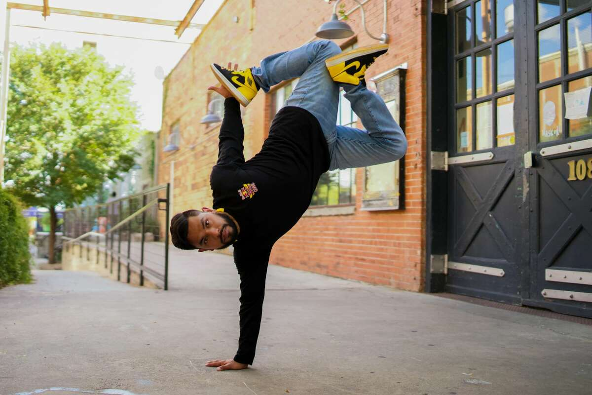 """Last December, break dancing was announced as an official sport for the 2024 summer games under """"breaking."""" Omar """"B-Boy Omar"""" Davila, a San Antonio resident andbreaking vet with more than 20 years of experience, hopes to be part of that build up."""
