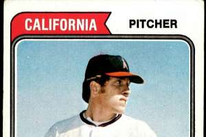Harbor Beach native Dick Lange once graced the front of a Topps baseball card, but now feels like the baseball union he was once a part of has forgotten him. (Courtesy photo)