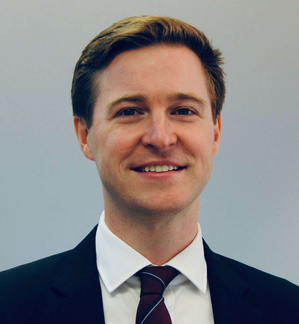 Andrew Okrongly was appointed to the Ridgefield board of finance on July 22, 2021.