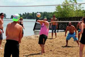 It has been more than a month since the health department has had to force the closures of any beaches in Huron County, despite several bouts of storms and heavy rains. (File Photo)