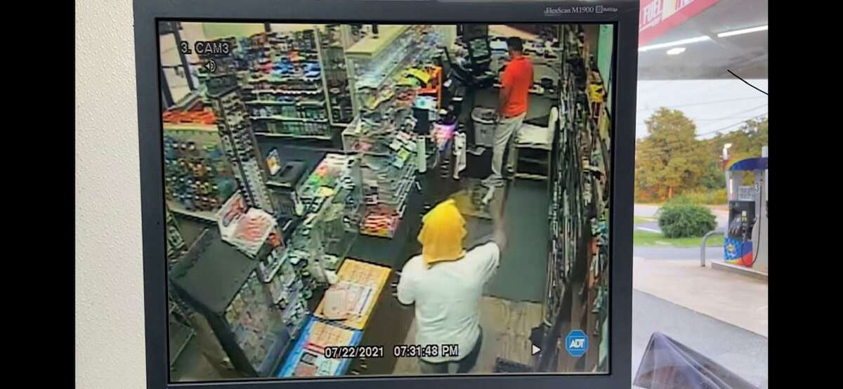 State police are looking to identify this man in connection with an incident in Essex, Conn.