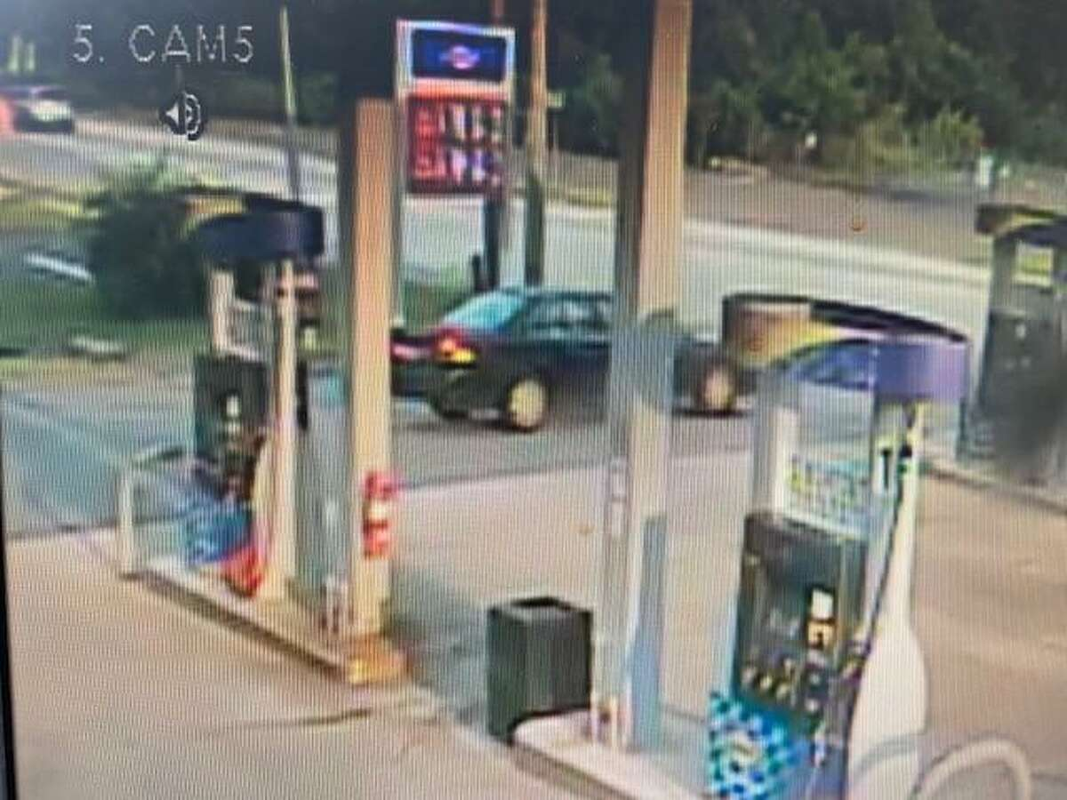 State police are looking for information on this car in connection with an incident in Essex, Conn.