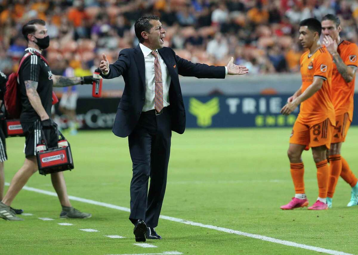 While he's not happy about his club recording six draws in its last seven matches, Dynamo coach Tab Ramos is glad to see the team improving in some areas of weakness.