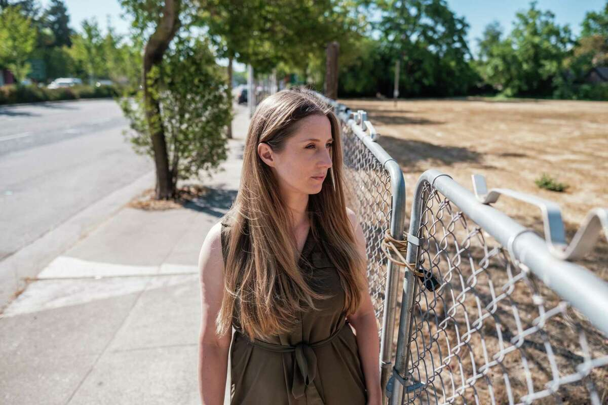 Housing production advocate Kelsey Banes wants more multifamily units in Palo Alto.
