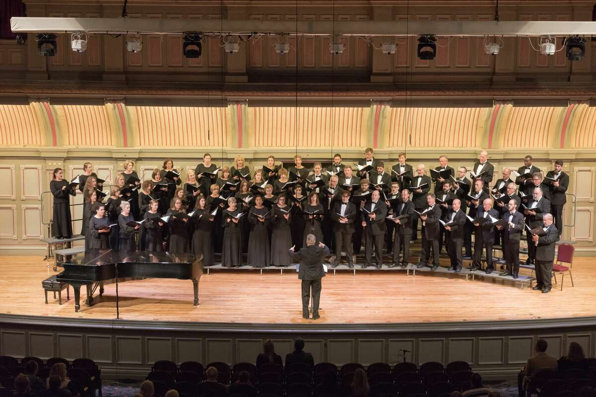 The Albany Pro Musica chorale essemble. (credit: APM)