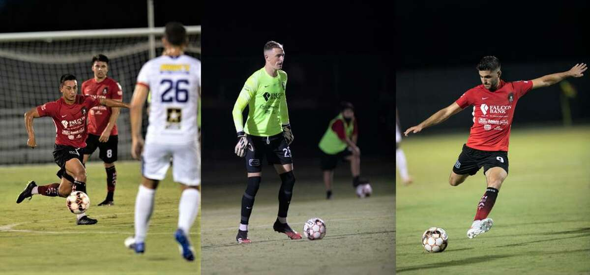 The Laredo Heat SC's Oscar Govea, Gage Rogers and Nadav Datner are vying for NPSL West Region XI honors in a live vote running through the end of the day on Saturday, July 24, 2021.