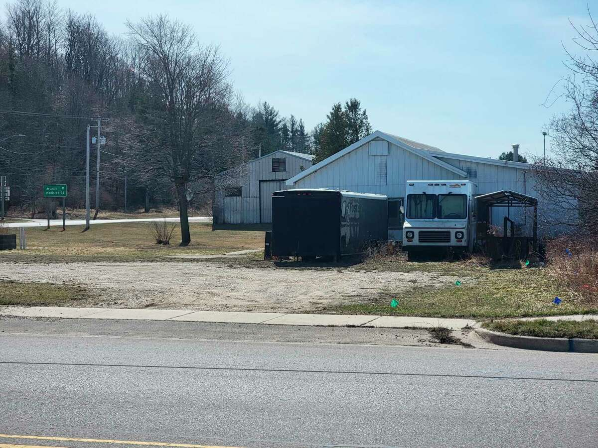 An unused Lions Club clubhouse on the east end of Frankfort's Main Street will be demolished to make way for 30 studio apartments. (File photo)