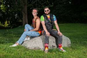 """New Milford Resident Billy Hicks starred in Composer Stephen Schwartz's musical that is titled: """"Godspell"""" at 8 p.m. on Friday, July 23 at Musicals at Richter's outdoor theater. Performances continue through Aug. 7."""