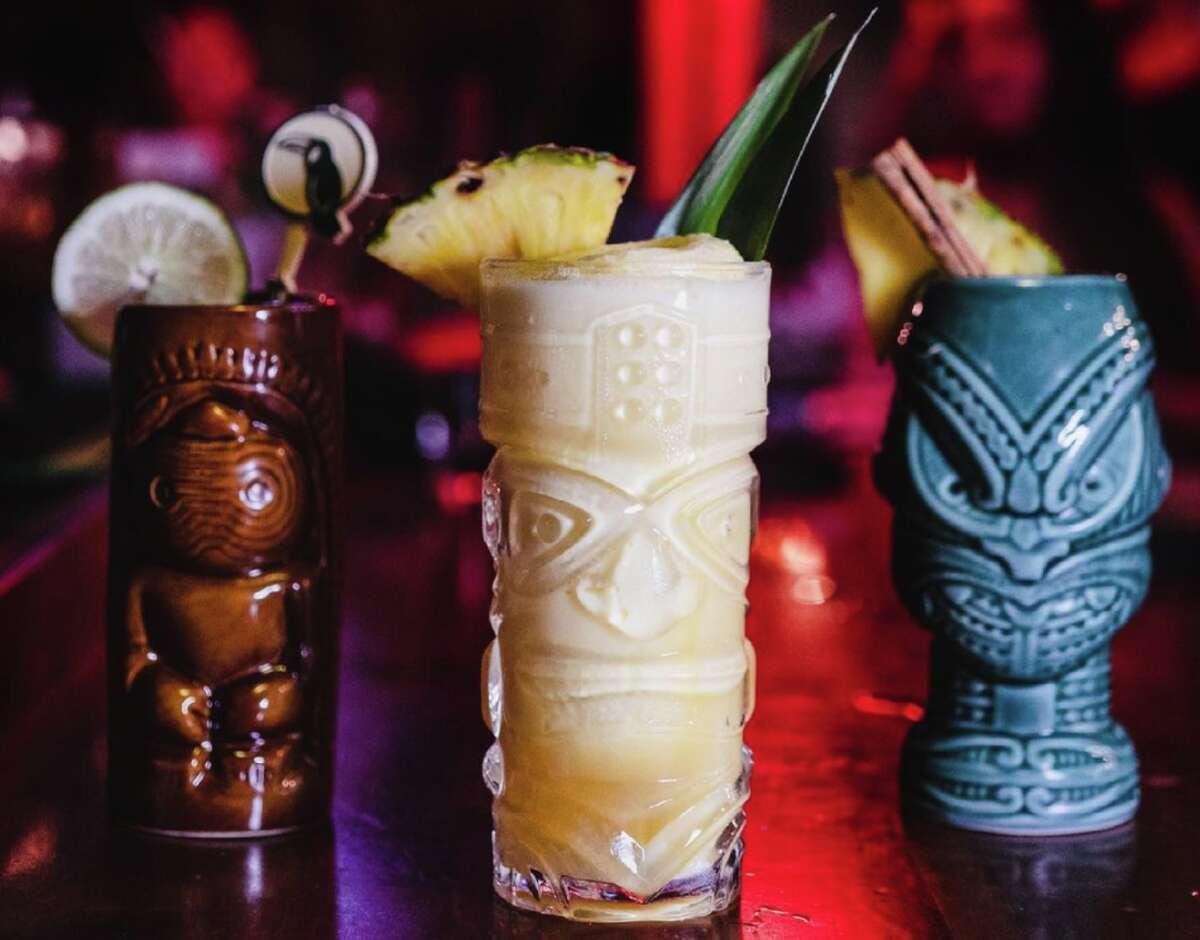 Tiki drinks at The Jungle Bird in Sacramento.