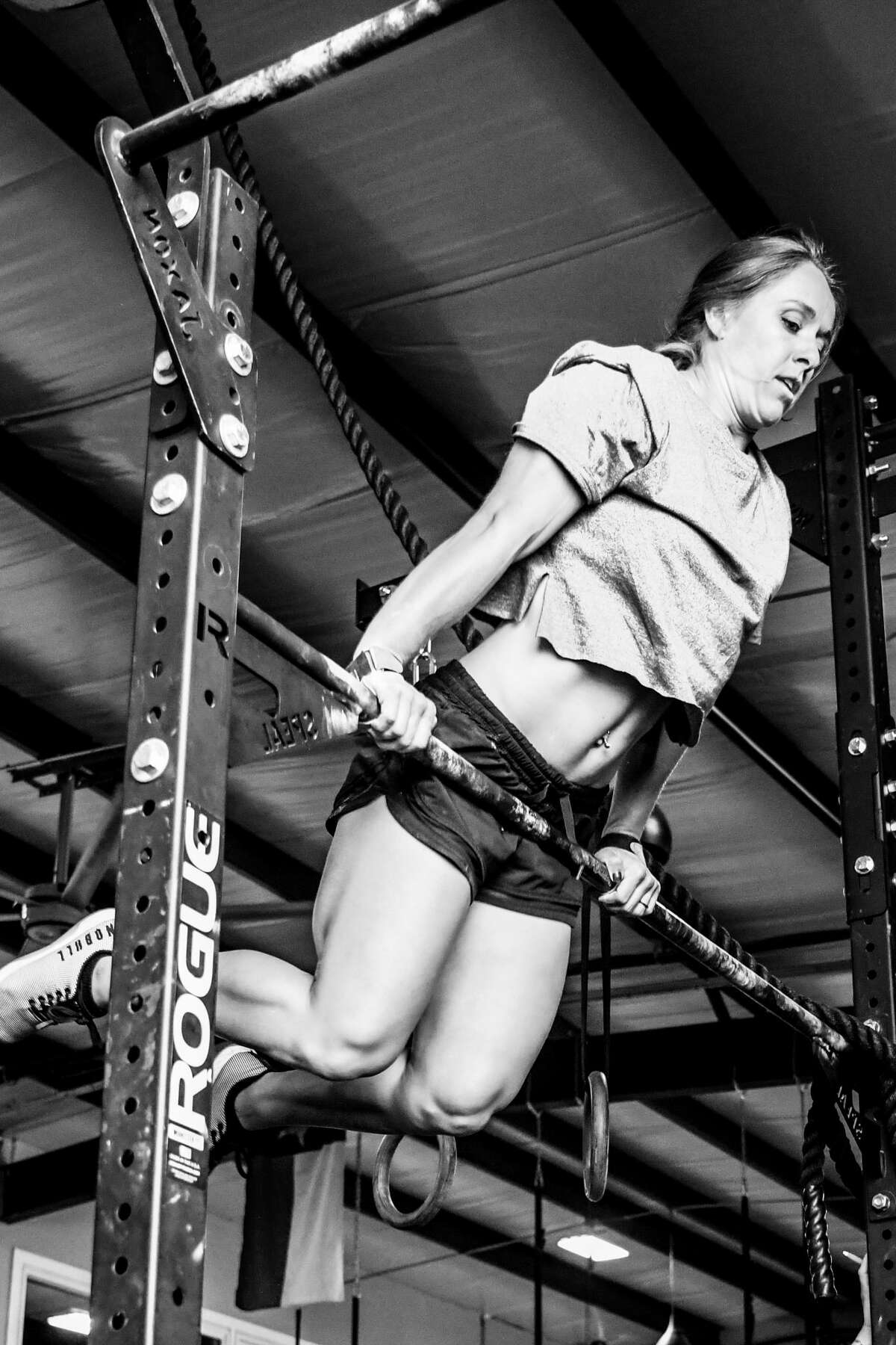 Arielle Loewen is seen her training at Renewed Strength Crossfit. Loewen has qualified for the 2021 Crossfit Games taking place July 27-Aug. 1 in Madison, Wisc.