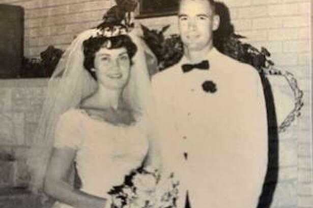 Paul and Joan Klockenkemper at their wedding