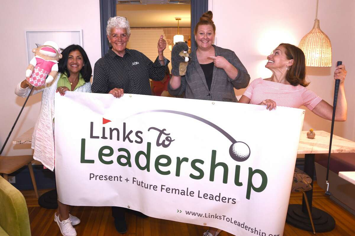 """Links to Leadership held a launch event at Palette Cafe in Saratoga Springs earlier this summer. The inaugural Links to Leadership tournament will be held Monday, Sept. 13, 2021 at McGregor Links Country Club in Wilton, N.Y. The mission of Links to Leadership is """"to inspire connection and engagement through the game of golf. Our vision is to create a continuum that supports women and girls through community, mentorship and education."""""""