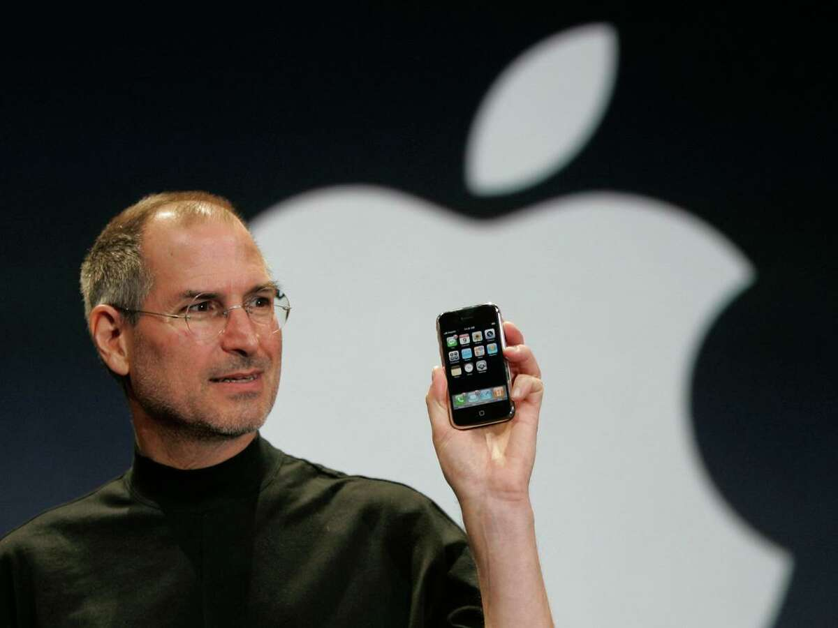 """""""Every once in a while, a revolutionary product comes along that changes everything,"""" Apple CEO Steve Jobs said in introducing the iPhone during his keynote address at Macworld conference in January 2007."""