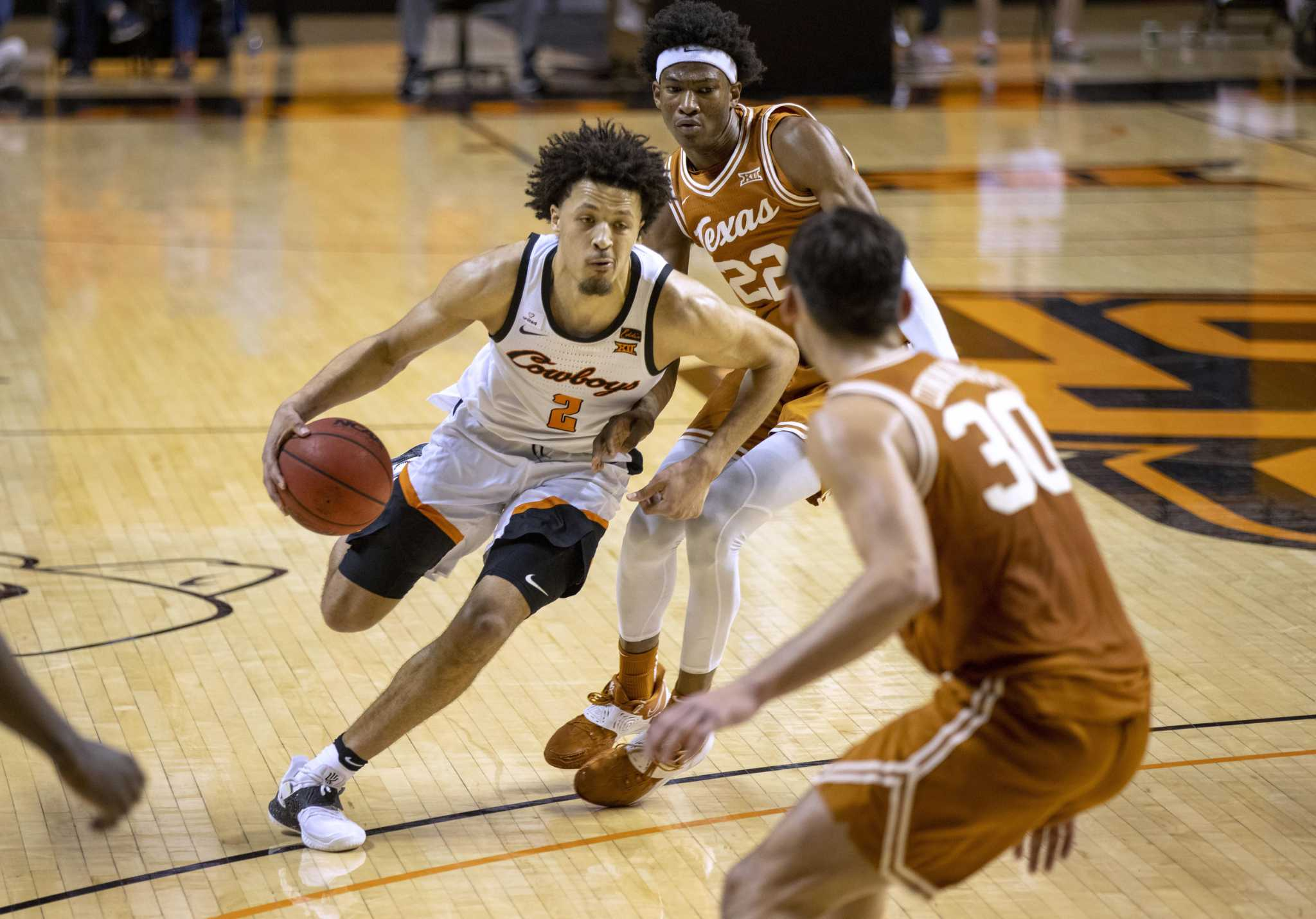 Cade Cunningham sees no point in talking with No. 2 Rockets