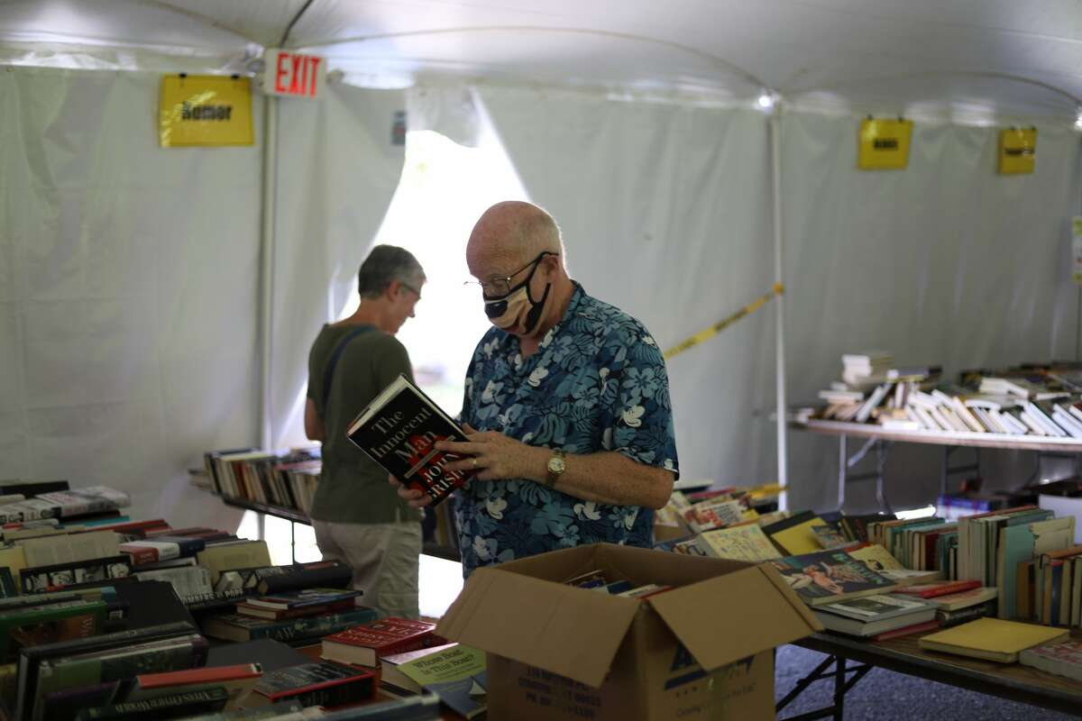 The Pequot Library in Southport, Conn., hosted its 61st Annual Summer Book Sale from Friday, July 23 to Sunday, July 25, 2021. Over 100,000 books, as well as DVDs, CDs and records are sold at the event each year. Were you SEEN?