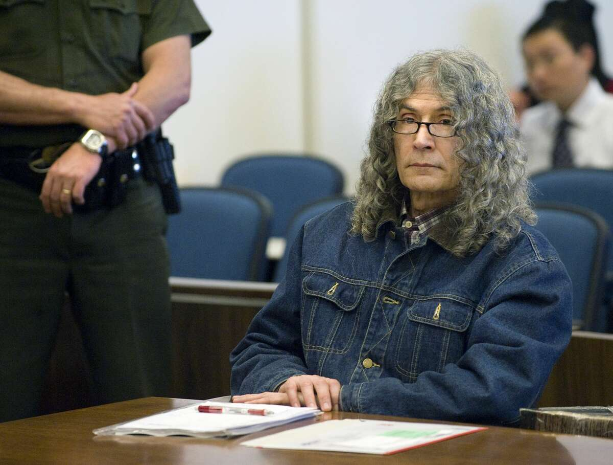 Serial killer Rodney Alcala sits silently after hearing the death sentenced pronounced by Judge Francisco Briseno in a Santa Ana courtroom March 30, 2010.