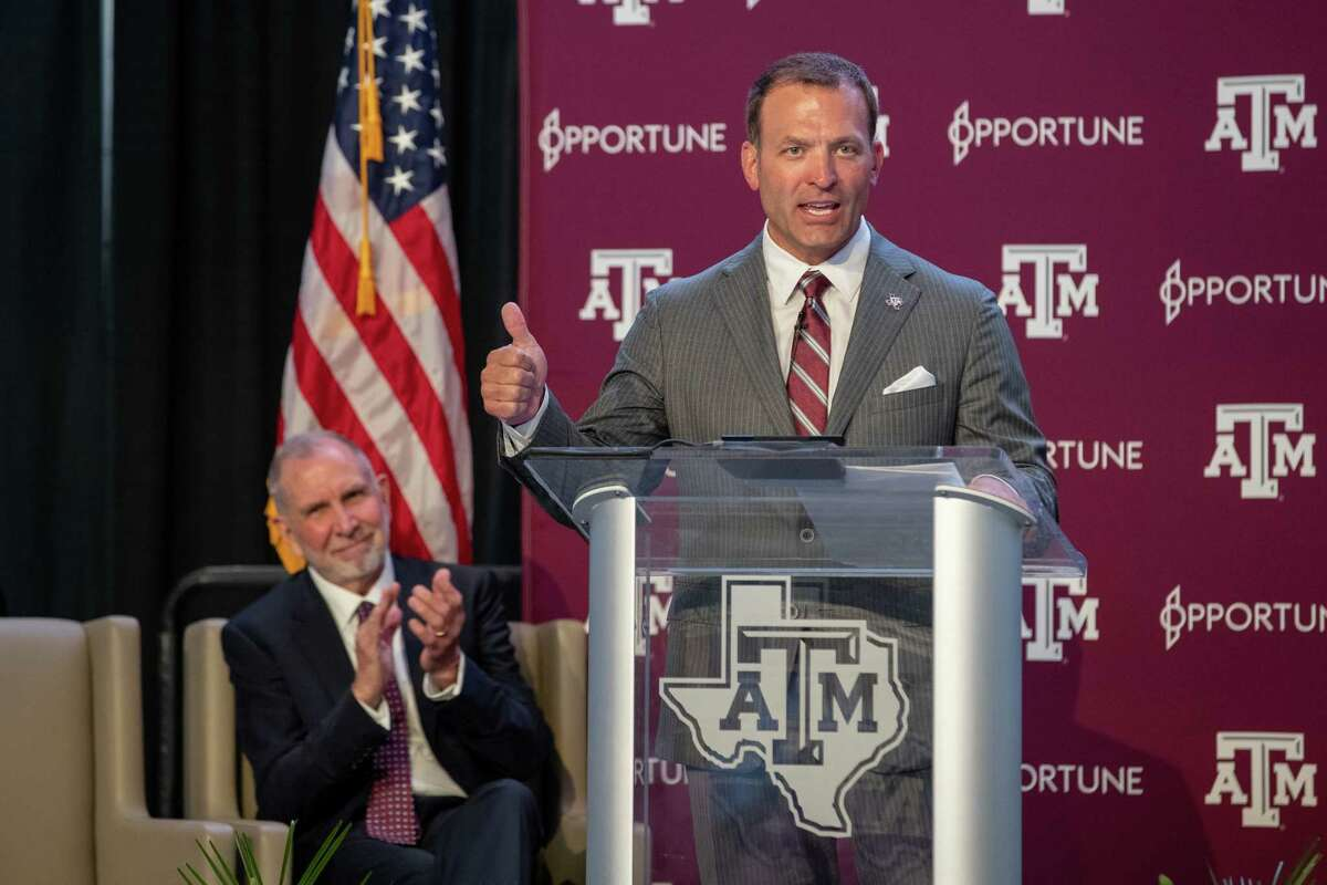 Texas A&M athletic director Ross Bjork said A&Mapparently was largely kept out of the loop on informal discussions among UT, OU and the SEC.